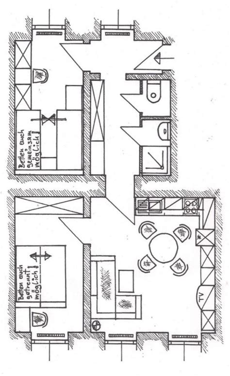 grundriss küche ottakring ferienwohnung wien appartements seethaler wien