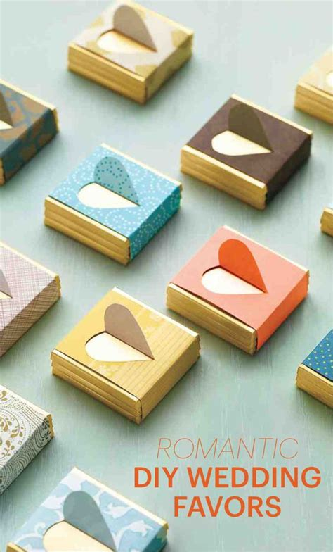 Wedding Favors Martha Stewart by Diy Wedding Favors To Craft For S Day Or Any