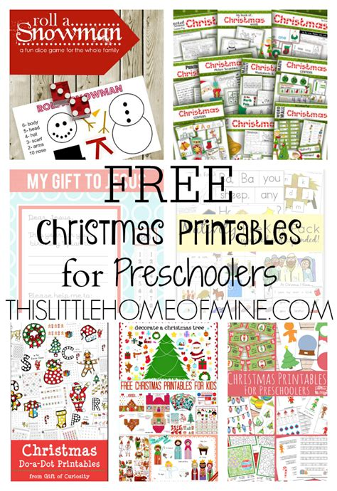 printable christmas activities for preschoolers free christmas printables for preschoolers this little
