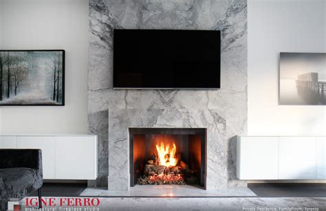 Wood In Gas Fireplace by Toronto S Best Modern Fireplaces Store In Toronto Gas