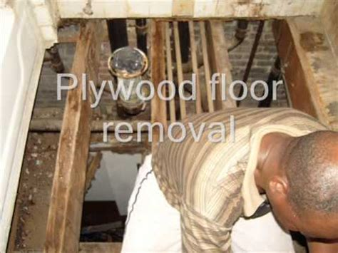 bathroom subfloor replacement bathroom floor and subfloor repair youtube
