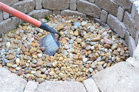 diy pit using rocks how to build a pit hgtv