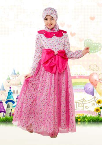 Harga Gamis Anak Merk Teddy butik baju pesta anak gamis branded merk aini dan aliza