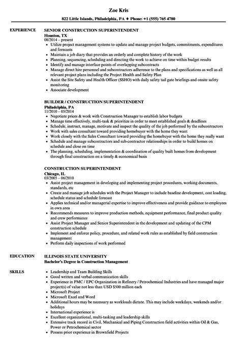 construction worker sample resume construction worker resume