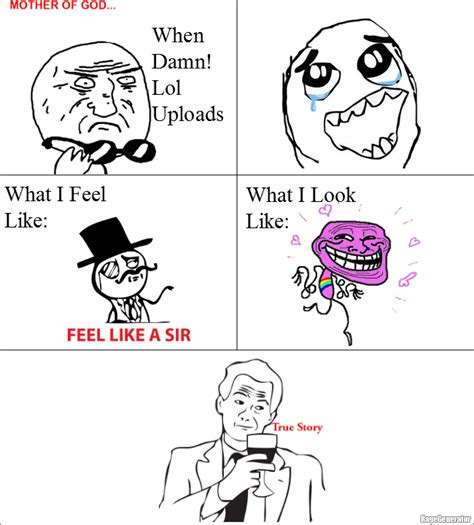 Damn Lol Memes - ragegenerator rage comic when damn lol uploads