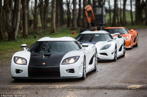 koenigsegg rain more than 163 20million worth of the world s fastest