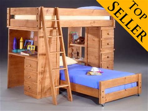 American Woodcrafters Bunk Beds American Woodcrafters Crossroads Student Bunk Loft Bed Ebay
