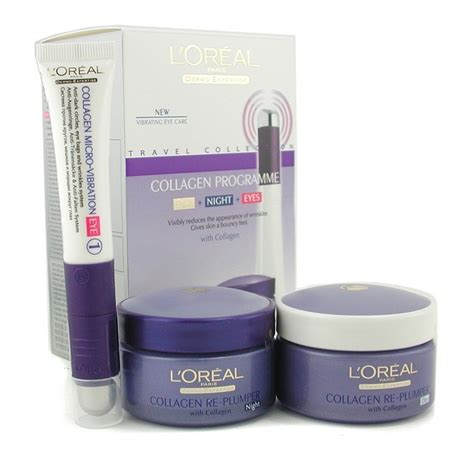 Collagen Loreal l oreal dermo expertise collagen programme re plumper day eye care fresh