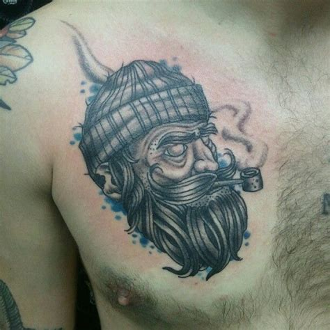 salty dog tattoo 23 best images about chest tattoos on wolves
