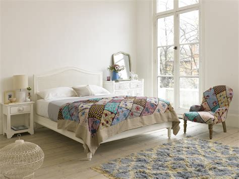 Nomad Bed Frame Nomad Bed White Rattan Bed Loaf