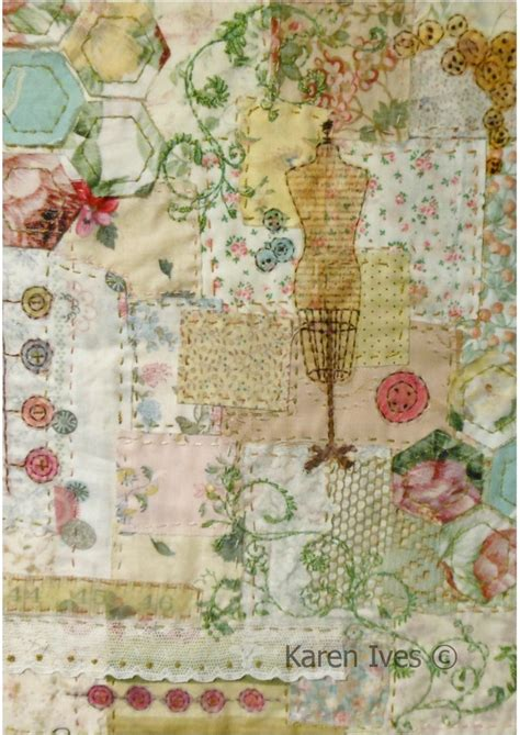 Patchwork Embroidery Stitches - 25 best ideas about vintage textiles on lace
