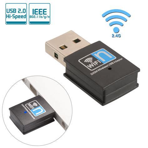 Dongle Adaptor Wifi Wireless Usb 2 0 802 11n With Antena 600 Mbps mini usb 2 0 wifi adapter wireless dongle 300mbps network lan 802 11b g n ac830 ebay