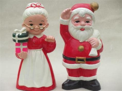vintage inarco ceramic christmas decorations large santa