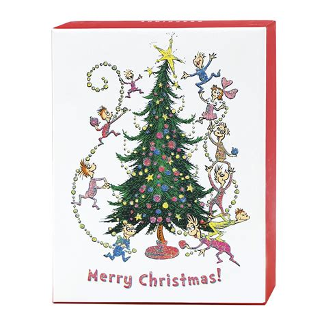 merry christmas dr seuss assorted boxed cards
