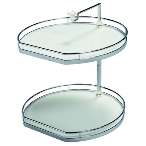 hafele lazy susan cabinet hinges hafele twister quot d shaped lazy susan with 2 or 3 shelves