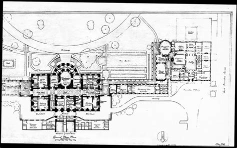 white house floor plans 1943 press room floor plan white house historical