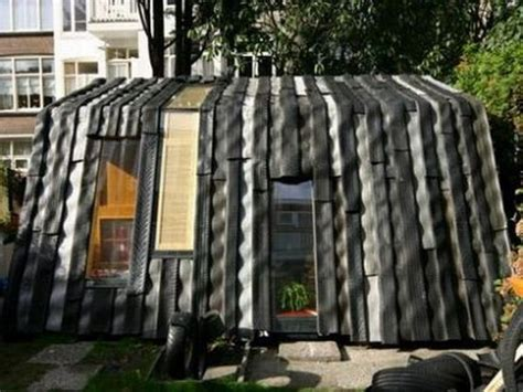 house of tires five coolest homes made using recycled vehicles ecofriend