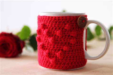 31 DIY Easy To Make Crochet Mug Warmer Ideas   DIY to Make