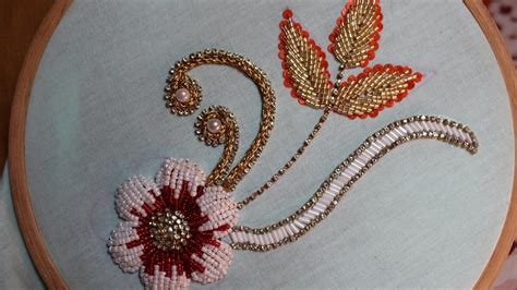 Handmade Embroidery Design - embroidery designs bead embroidery stitch and