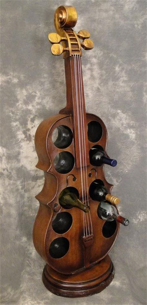 Cello Rack by Cello Wine Rack A Truly Instrumental Furniture Accessory