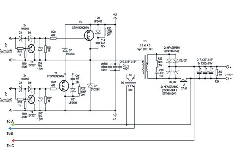 Power Supply Eagle 30a switch mode welder inverter circuit diagram simple 50