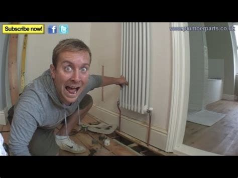 How To Plumb Radiators how to install a column radiator plumbing tips