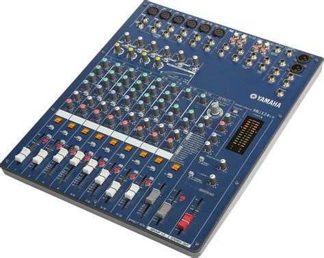 Li Mixer Yamaha Mg 124 Cx 12 Channel yamaha mg124cx 12 channel stereo mixer with effects zzounds