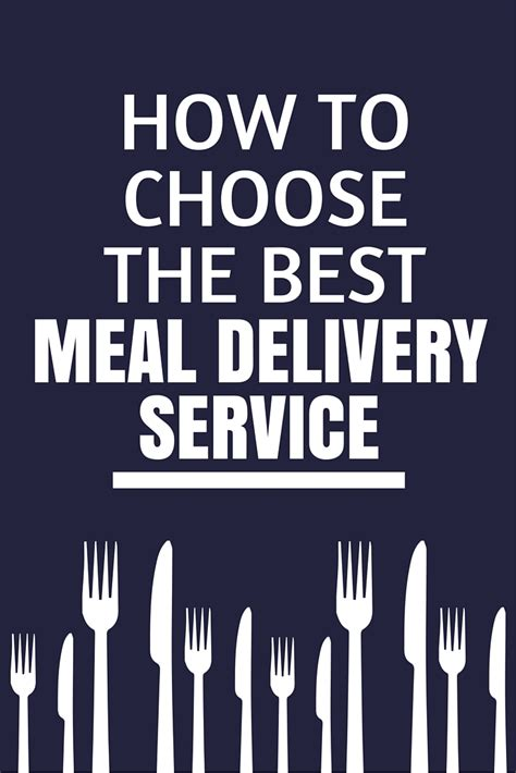 how to a like a service how to choose a meal delivery service