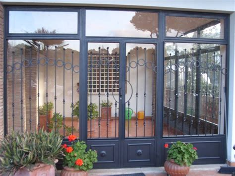 porte in ferro battuto e vetro porte in ferro porte modelli e caratteristiche delle