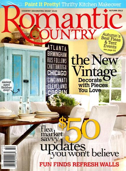 country magazine subscriptions renewals gifts