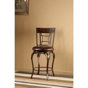 Hillsdale Granada Swivel Bar Stool by Hillsdale Furniture Granada 26 In Chestnut Swivel