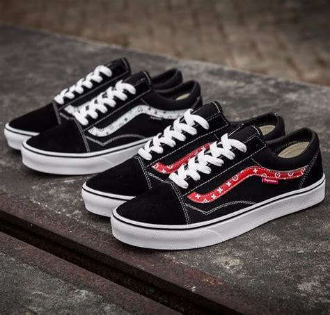 supreme clothing shoes amac custom supreme x louis vans