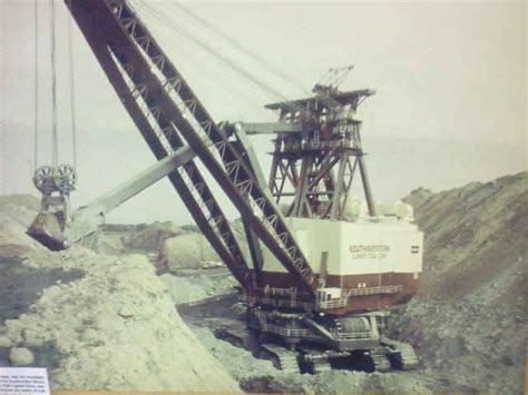 The Captain was the Largest Single Mining Shovel Ever Made
