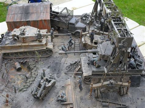 Mini 4 Wd Academy Land Master Korea Production picture diorama pictures and dioramas