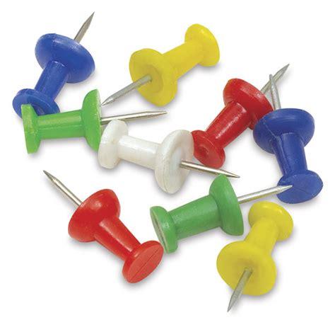 color pin push pins blick materials