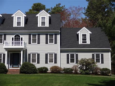 timberline pewter grey shingle with white siding project spotlight gaf timberline hd roof marion ma