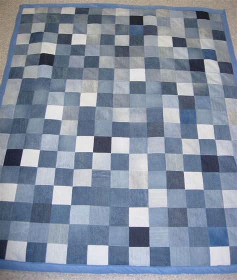 Blue Jean Quilts by Best 25 Denim Quilts Ideas On Blue Jean