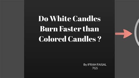 do white candles burn faster than colored do white candles burn faster than colored candles by