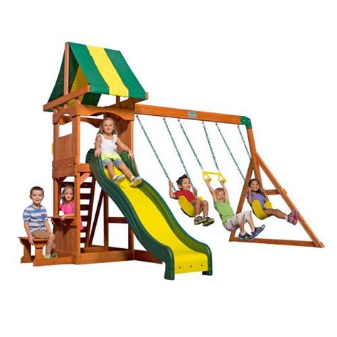 academy swing sets play sets swing sets outdoor backyard wooden