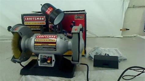 craftsman variable speed bench grinder craftsman professional variable speed 8 bench grinder