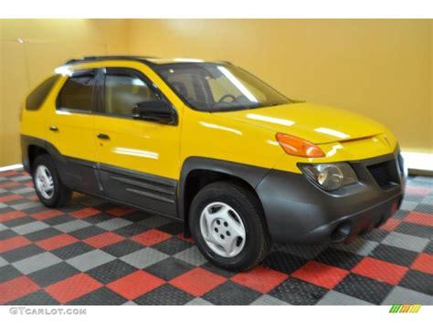 pontiac aztek yellow 2001 aztek yellow pontiac aztek 30894711 gtcarlot com