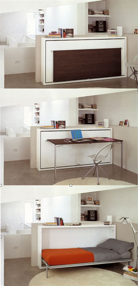 modern murphy bed with desk the poppi desk is a space saving modern murphy bed that