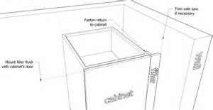 Pull Out Trash Cabinet Filler Installation Outdoor Kitchen Cabinetsoutdoor