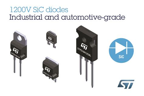 diodes sic 1200v silicon carbide diodes from stmicroelectronics