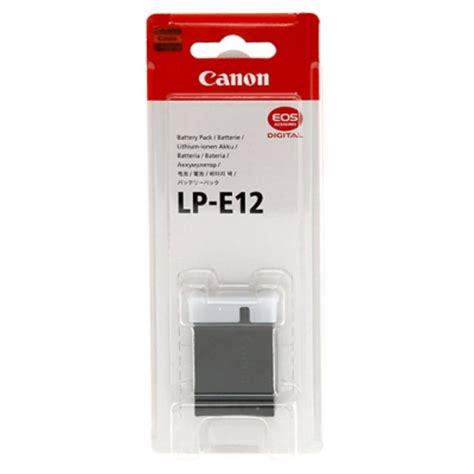 Canon Battery Lp E12 canon battery lp e12