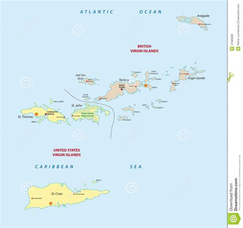 map of us island islands map stock illustration image 47686898