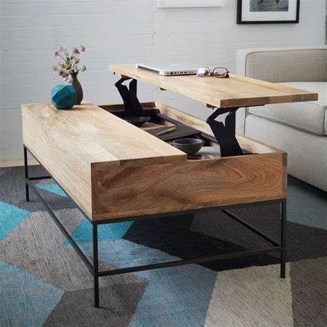 West Elm Storage Coffee Table Maximize Your Space Speedy Organization Solutions In