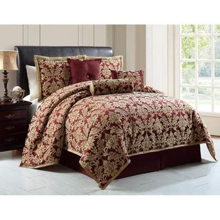 what comes in a comforter set overstock wilshire 7 piece comforter set wilshire is