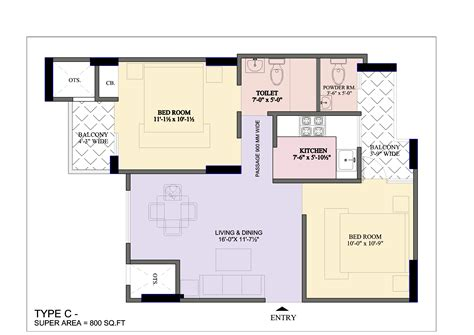 Best 2 Bhk House Plan Bcc Bharat City In Indraprastha Yojna Ghaziabad By Bcc