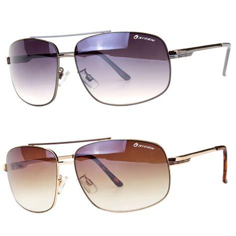 Designer Sunglasses by Classic Retro Mens Fashion Metal Pilot S Vintage Designer